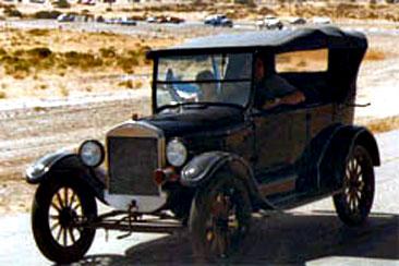 Autos clásicos en Comodoro Rivadavia