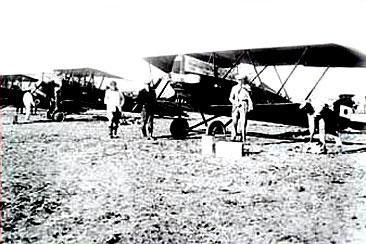 Antiguos aviones en la Patagonia