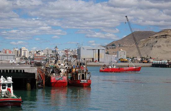 El puerto de Comodoro