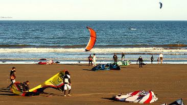Kitesurf en Rada Tilly