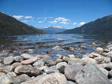 Parque Nacional Lago Puelo, desde Esquel