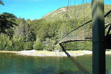 Lago Verde cerca de Esquel