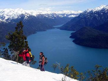 Invierno en Lago Puelo