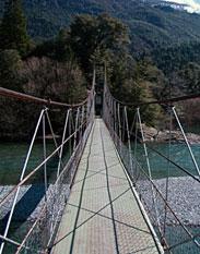 Río Azul, Lago Puelo