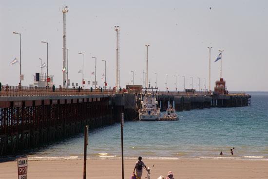El puerto de Madryn