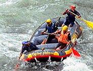 Aluminé, rafting