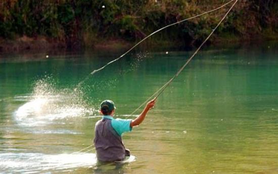 pesca en caviahue