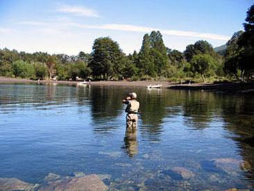 pesca en Junin de los Andes