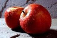 manzanas, roca