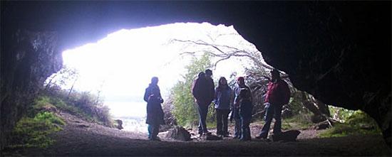 Cueva cerro León, bariloche
