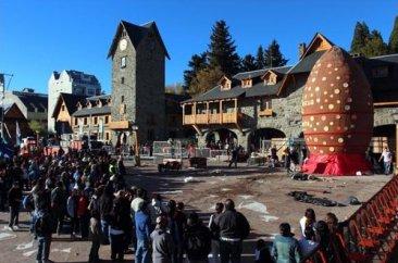 Huevo de chocolate gigante, Bariloche