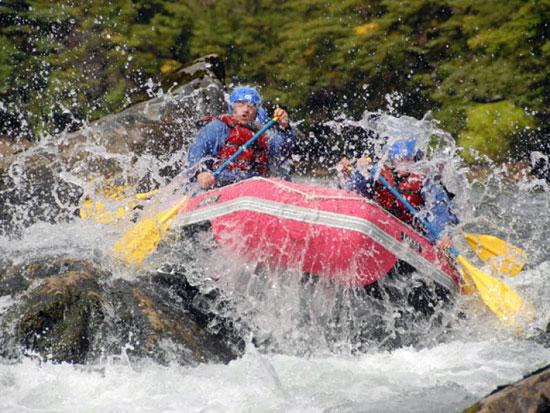 Rafting en Bariloche