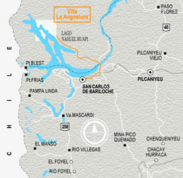 Mapa PN Arrayanes