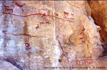 cuevas de walichu, calafate