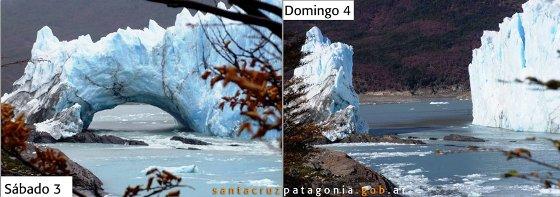 rompimiento glaciar 2012
