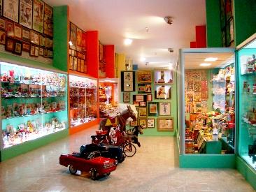 sala del museo juguete