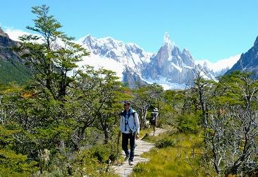 Sendero al Cerro Torre, Chaltén