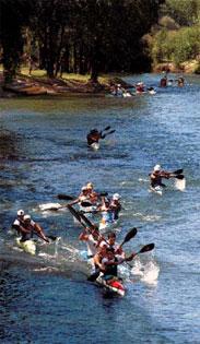 regata del río negro