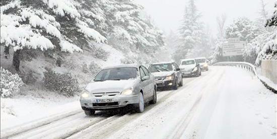 conducir en nieve