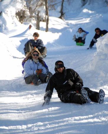 esqui en la hoya