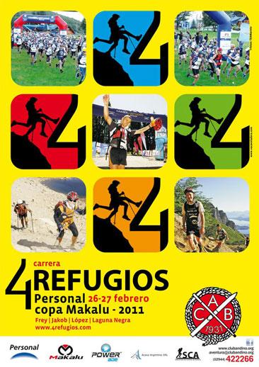 4 Refugios, Bariloche