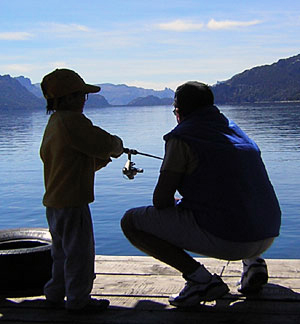 pesca en patagonia